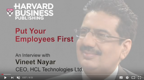 Put Your Employees First, Customers second