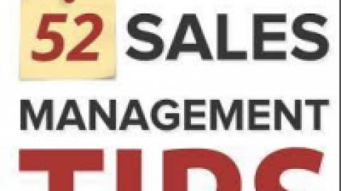 "Steven Rosen : "" 52 Sales Management Tips – The Sales Manager's Success Guide """