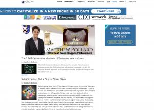 matthew pollard blog