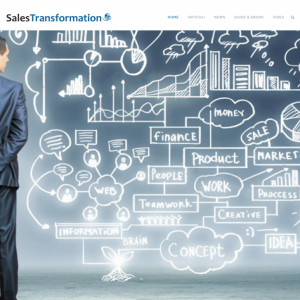 sales transformation web site