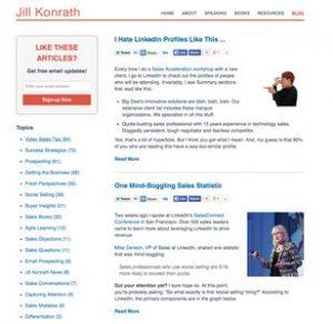 web site jill konrath
