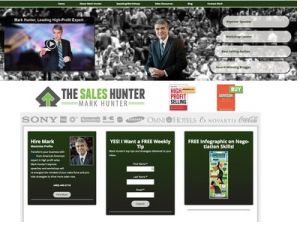 web site mark hunter