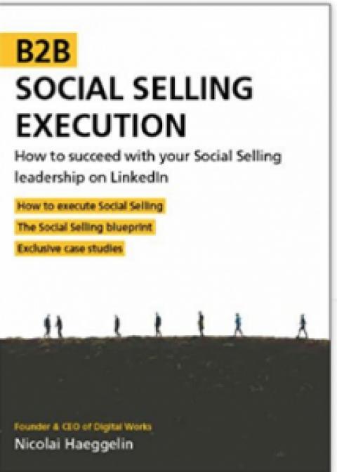 "Nicolai Haeggelin : "" B2B Social Selling Execution ""."