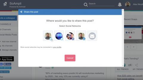 SoAmpli Automates Social Selling